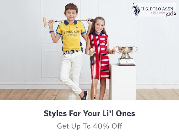 U.s. Polo Assn. Boys Girls - Buy U.s. Polo Assn. Boys Girls online in India