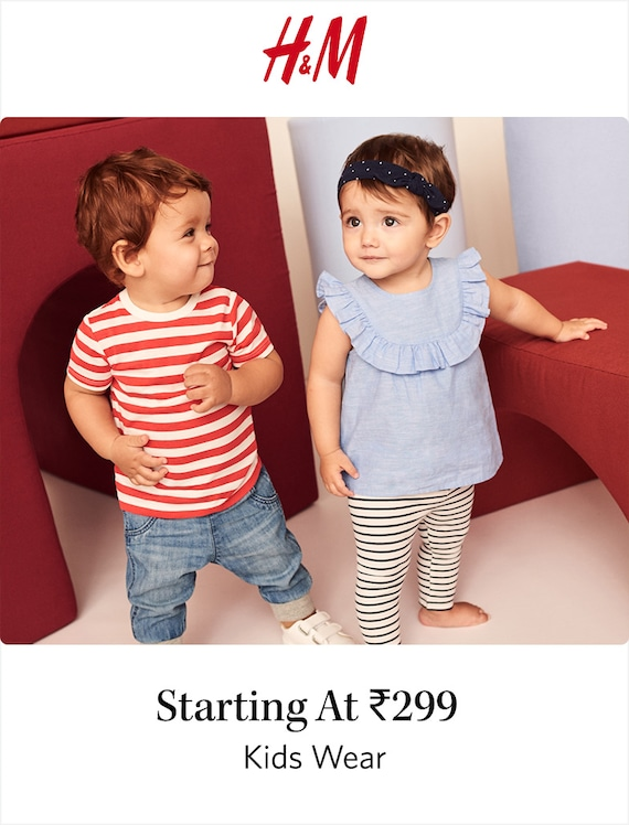 H&M Kids - Buy Stylish H&M Clothing & Shoes Online for Kids