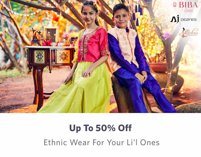 e5dbf8aff6da Kids Shopping - Buy Kids Clothes, Dresses & Bottom wear Online in India