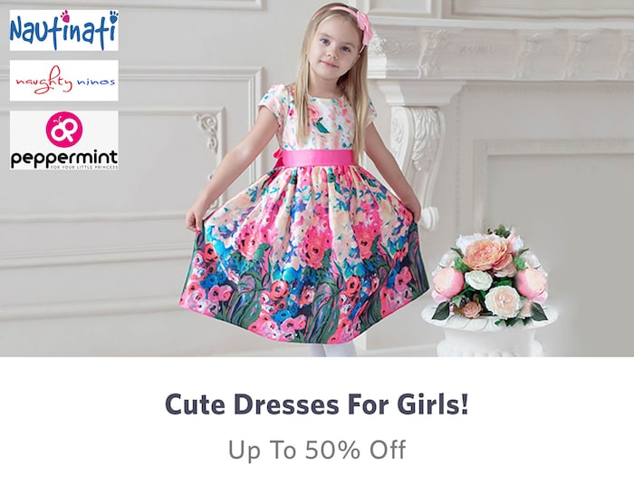 f7f8a23b5ebd5 Kids Shopping - Buy Kids Clothes, Dresses & Bottom wear Online in India