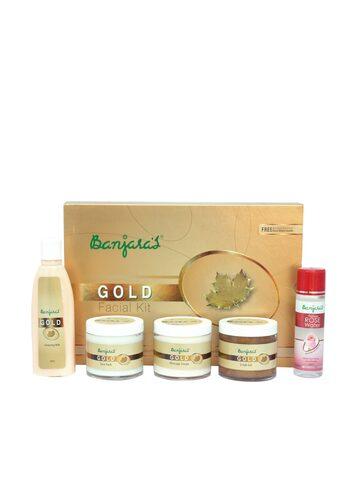 Unisex Gold Facial Kit
