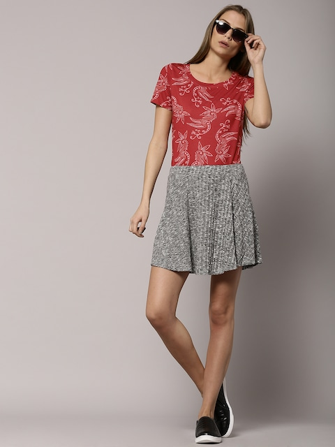 Marks and spencer red bird dress
