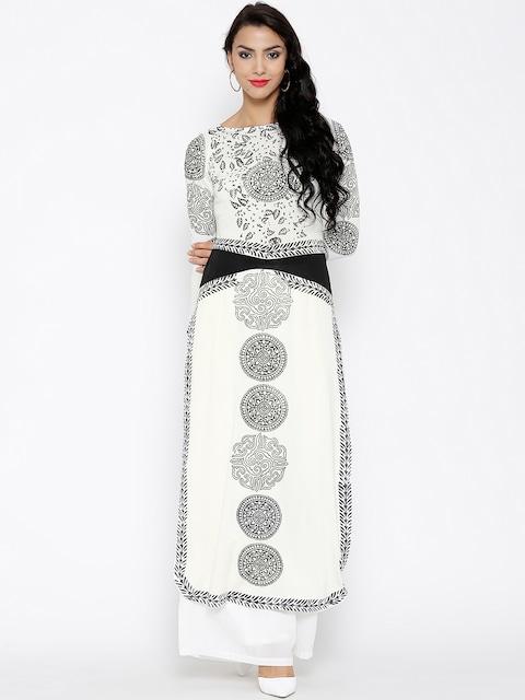 A Classic White Kurta-Source: Myntra