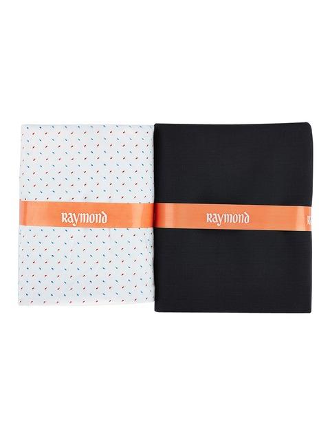 f3ce1529874 Buy Raymond White   Black Clothing Fabric - Clothing Fabric for Men ...