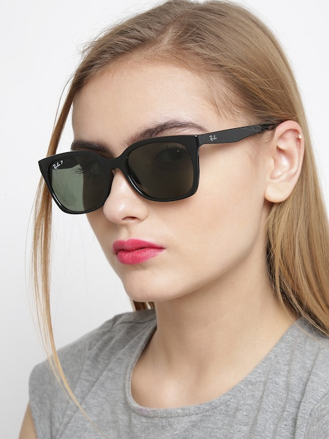 ray ban ladies  Buy Ray Ban Women Polarised Oval Sunglasses 0RB7060I601/9A54 ...