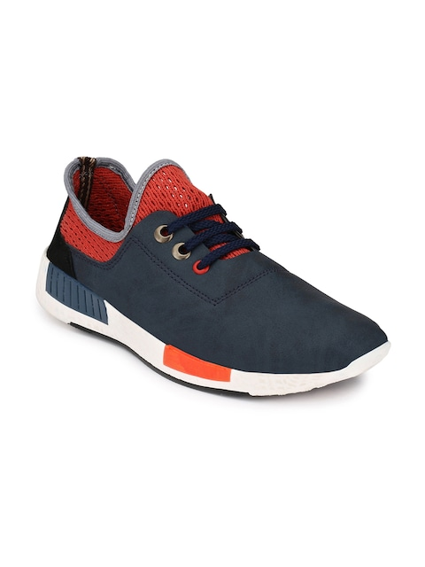 Buy More, Save More!! 10% Off On Rs.1,499 By Myntra | Mactree Men Navy Sneakers @ Rs.799