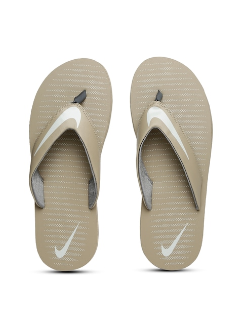1ed6cffc16e2 Nike Men Beige Chroma Thong 5 Flip Flops Nike Flip Flops available at  Myntra for Rs