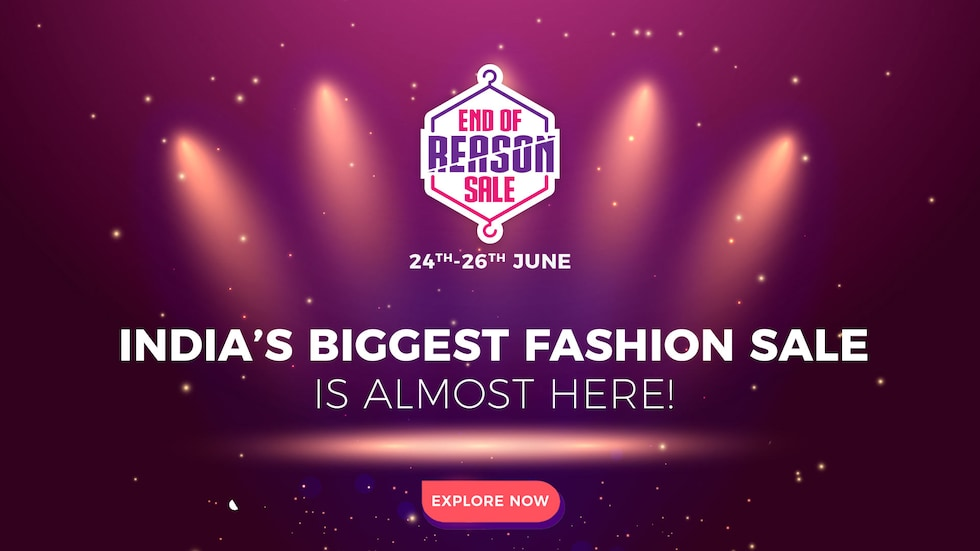 Myntra End of Reason Sale & Myntra Shopping Groups Offer (24th - 26th June)