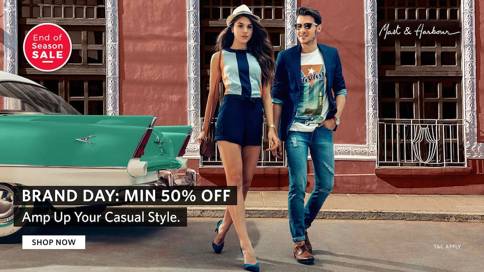 Women Tops   T-shirt Flat 50% OFF Starting Rs. 139 From Myntra.com