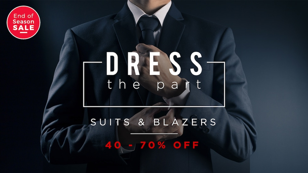 off on Suits & Blazers