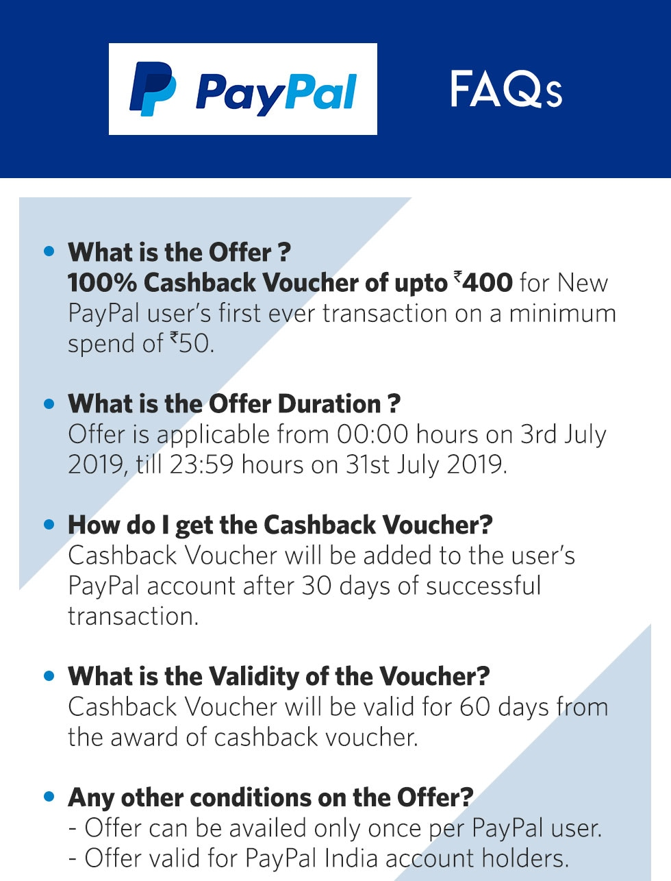 Myntra Paypal Offer : Get 100% Cashback | Pay via Paypal